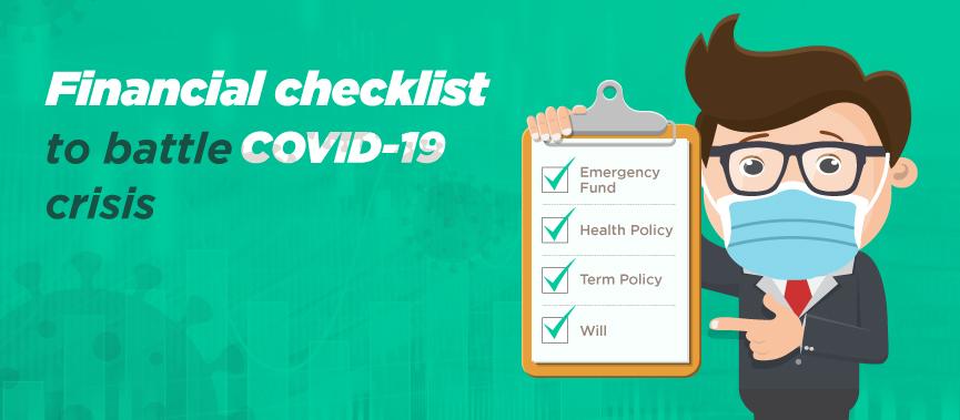 Financial Checklist Covid-19