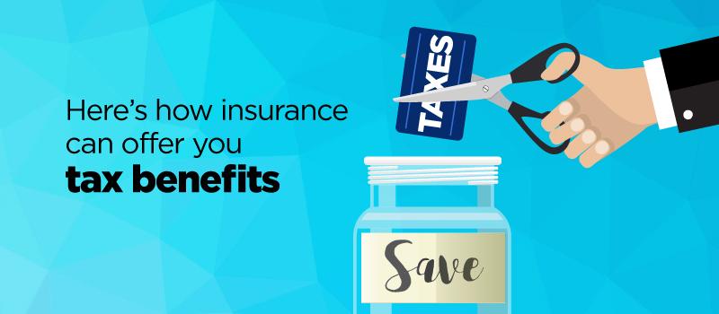 Insurance offer tax benfit