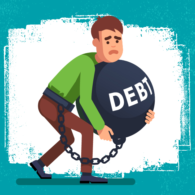7 signs that you have a debt problem